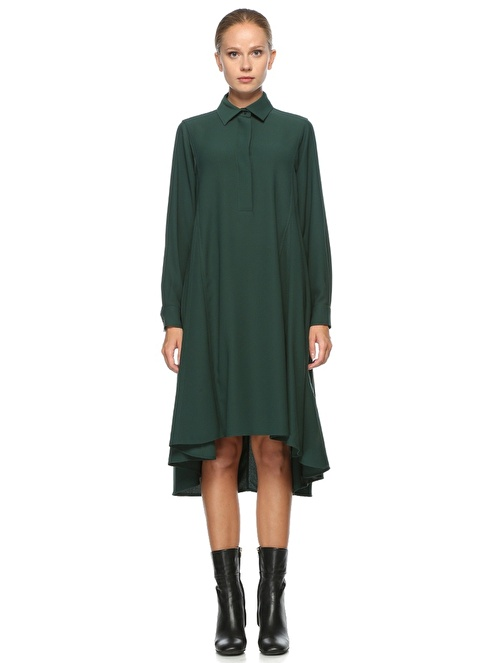 Beymen Collection Elbise Yeşil